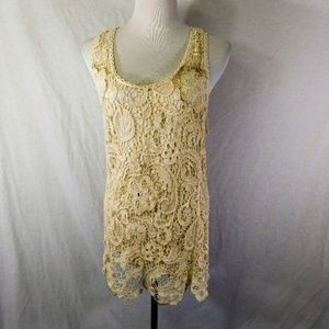 Staring at Stars Urban Outfitters Lace Tank Tunic
